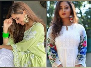 Rashami Desai And Aamna Sharif Give Navaratri Fashion Goals In Floral Kurtis
