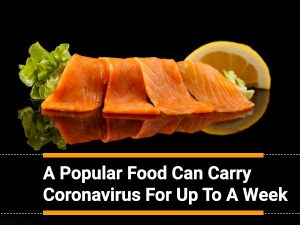 Salmon Fish May Carry The Novel Coronavirus For A Week