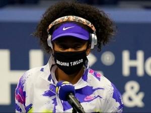 Tennis Star Naomi Osaka S Breonna Taylor Mask At The Us Open Championship