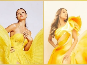 Malaika Arora S Yellow Gowns On Her Instagram
