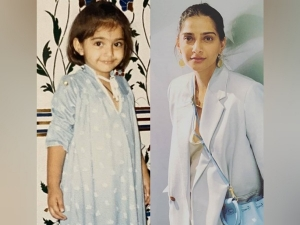 Sonam Kapoor Ahuja S Powder Blue Look On Instagram
