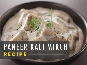 Paneer Kali Mirch