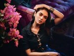 V Actress Aditi Rao Hydari Gives Navaratri Fashion Goals In Midnight Blue Ensemble