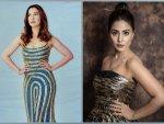 Hina Khan And Gauahar Khan S Stunning Gowns From Bigg Boss Grand Premiere