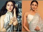 De De Pyaar De Actress Rakul Preet Singh S Saree Looks On Her Birthday