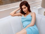 Khaali Peeli Actress Ananya Panday Looks Stunning In An Icy Blue Dress
