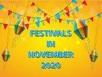 Festivals In November In India