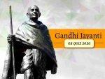 Gandhi Jayanti Quiz Mahatma Gandhi Gk Questions