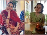 Taapsee Pannu Karisma Kapoor And Other Divas Suit For Navratri Festival