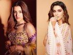 Kriti Sanon And Nupur Sanon S Phulkari Lehenga Sets From Lakme Fashion Week