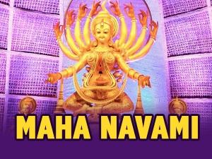 Navratri Maha Navami Date Puja Vidhi Significance