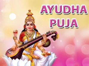 Ayudha Puja Shubh Muhurat Puja Vidhi Rituals Significance