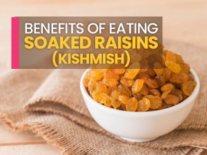 Health Benefits Of Eating Soaked Raisins