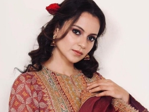 Tejas Actress Kangana Ranaut In Beautiful Embroidered Suit For Brother S Haldi