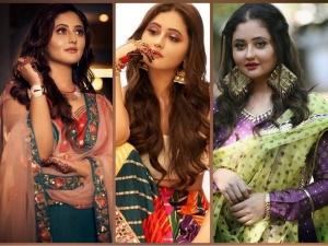 Outfit Ideas From Rashami Desai S Ethnic Wardrobe For This Diwali
