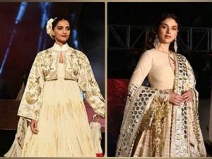 Aditi Rao Hydari And Sonam Kapoor Ahuja S Khadi Outfits On Gandhi Jayanti