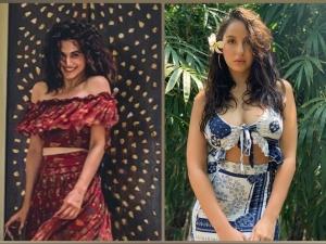 Nora Fatehi Soha Ali Khan Shriya Pilgaonkar Nikki Tamboli Taapsee Pannu S Fashion On Instagram