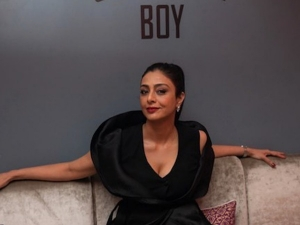 A Suitable Boy Actress Tabu S Dramatic Black Outfit On Instagram