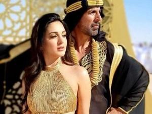 Kiara Advani S Stunning Golden Make Up In Laxmmi Bomb Trailer