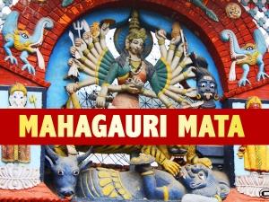 Navratri Day 8 Maa Mahagauri Puja Vidhi Mantra And Significance