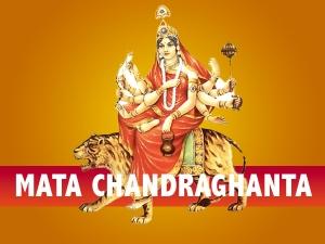 Navratri Day 3 Puja Vidhi Significance And Mantras Of Maa Chandraghanta