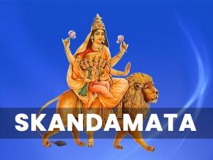 Navratri Day 5 Mata Skandamata Puja Vidhi Mantra And Significance