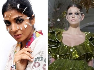 Deja Vu Eye Make Up Moment In Ranna Gill Show At India Fashion Week