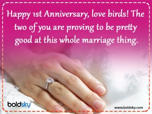 First Wedding Anniversary Wishes Greetings Messages Images And Quotes