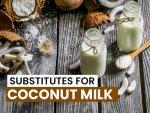 Substitutes For Coconut Milk
