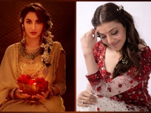 Nora Fatehi Kajal Aggarwal And Other Celebs Approved Hairstyles For Diwali