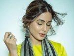 Hacked Actress Hina Khan S Yellow Eye Makeup Look For This Diwali
