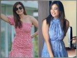 Kasautii Zindagii Kay Actress Shweta Tiwari In Blue And Red Mini Dresses