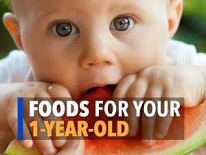Foods For One Year Old Baby