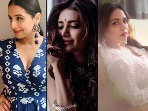 Karishma Tanna Vidya Balan Amruta Khanvilkar S Silver Jewellery On Dhanteras