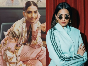 Sonam Kapoor Ahuja S Versace Robe And Mint Blue Outfit On Her Instagram
