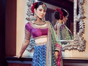 Kangana Ranaut In Three Toned Lehenga For Her Brother Aksht S Wedding