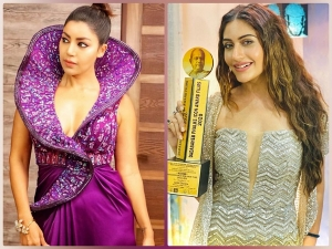 Surbhi Chandna Debina Bonnerjee And Other Divas Outfits At Gold Awards
