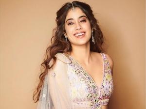 Gunjan Saxena Actress Janhvi Kapoor Sets Festive Goals In Her Floral Lehenga