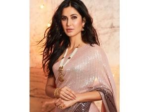 Katrina Kaif S Manish Malhotra Saree And Jewellery On Instagram
