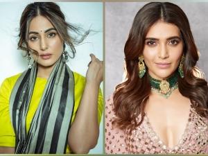 Hina Khan And Karishma Tanna S Diwali Traditional Fashion Looks