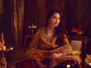 Nora Fatehi S Regal Look On Instagram