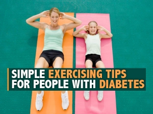 Simple Exercising Tips For People With Diabetes