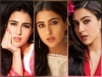 Sara Ali Khan S Minimal Make Up Looks From Coolie No 1 Promotions