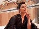 Priyanka Chopra Jonas Flaunts Chic Style In A Sheer Bold Black Lace Dress