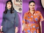 Kareena Kapoor Khan In Orange Shirt Dress And Grey Belted Midi For What Women Want