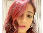 Dhvani Bhanushali S Latest Picture On Instagram In Red Hair