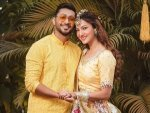 Gauahar Khan And Zaid Darbar Pictures From Their Chiksa Ceremony