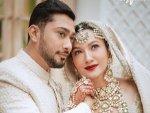 Gauahar Khan Does Zaid Darbar S Makeup Before Nikaah