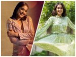 Regina Cassandra Gives Fashion Goals In Green Ensemble And Pink Pantsuit