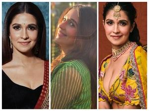 Broken But Beautiful Actress Harleen Sethi S Latest Ethnic Fashion On Her Instagram